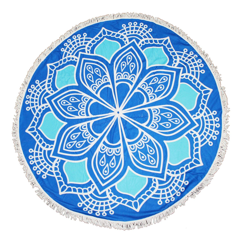 blue mandala pgt2004 towel blu